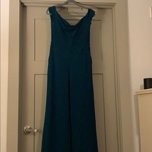Express green full length jumpsuit